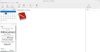 RedNotebook 1.10.1 Screenshot