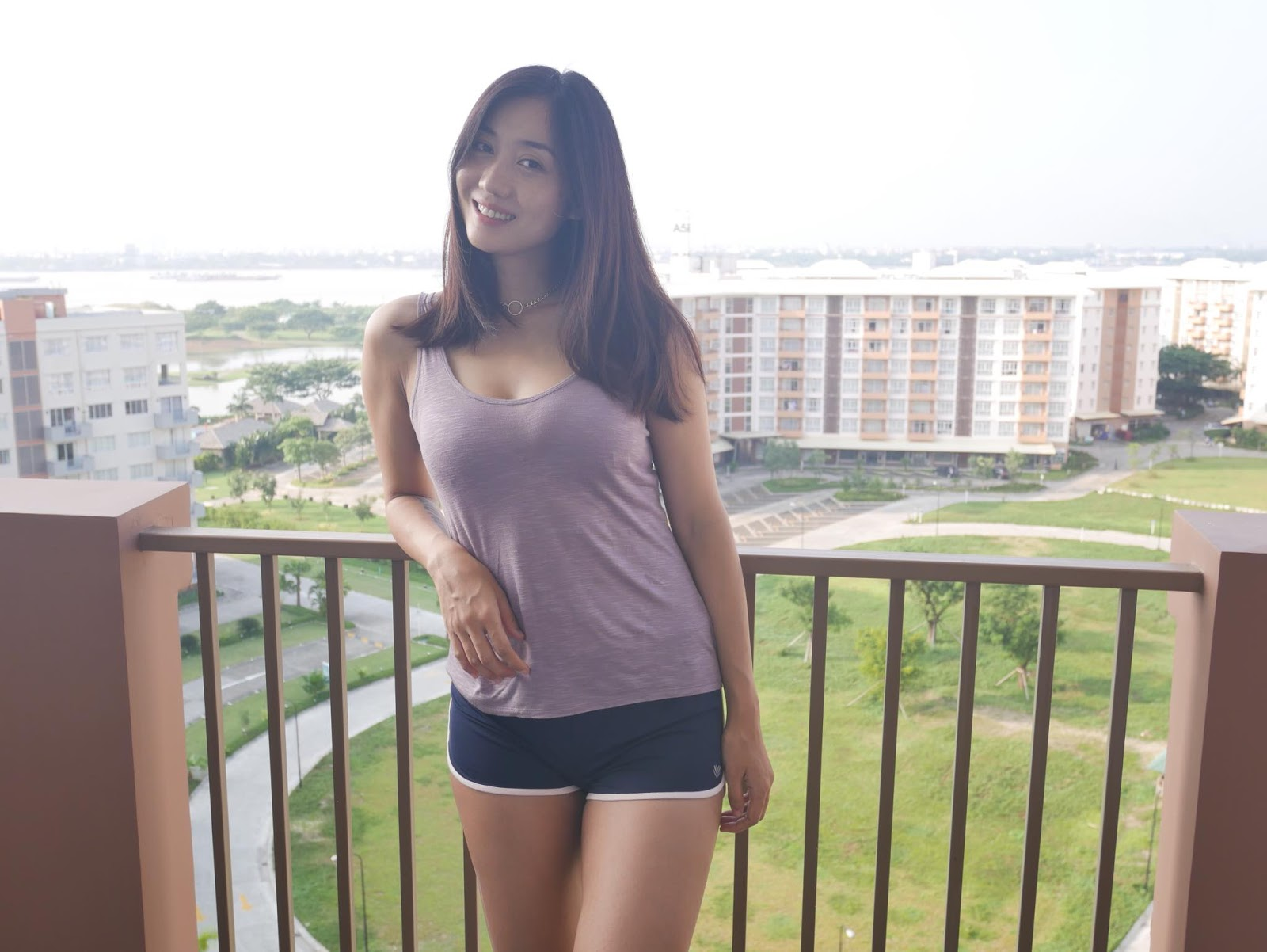 Lu Lu Aung Going To Gym : Fashion Snaps