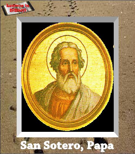 Resultado de imagen para San Sotero Papa oremos juntos
