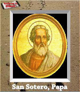 Resultado de imagen de San Sotero ► Papa del año 166 al año 175