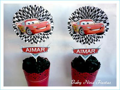 kit cumpleaños cars