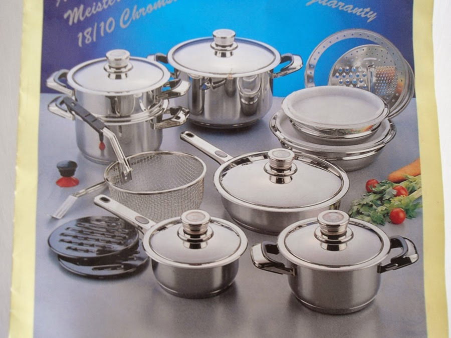 Dijual Cook Ware Set 3 In 1