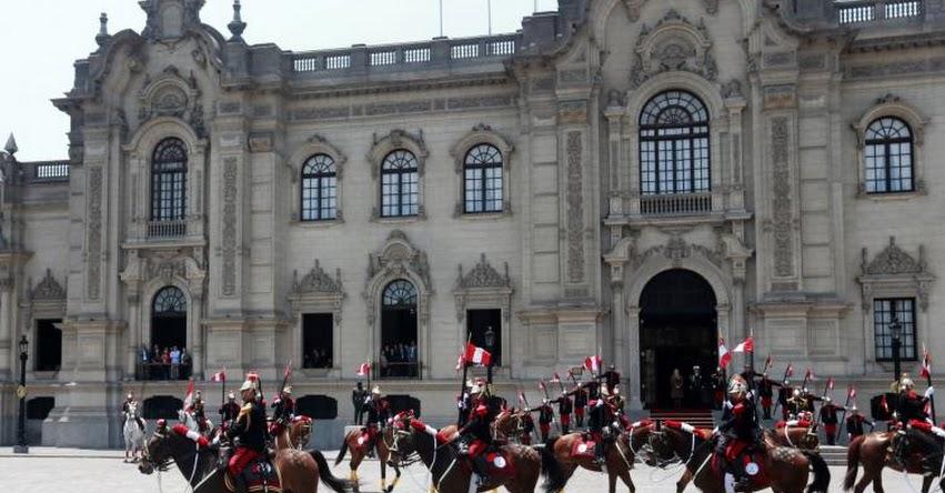 Ministro de Educación Idel Vexler presidirá tradicional Cambio de Guardia en Palacio de Gobierno