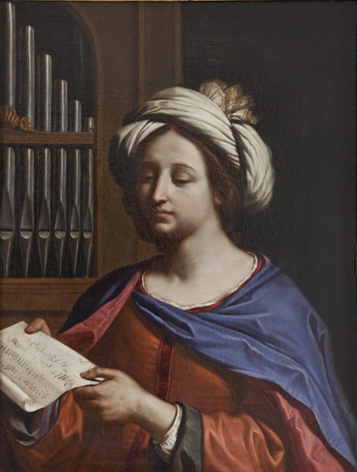Guercino Santa Cecilia