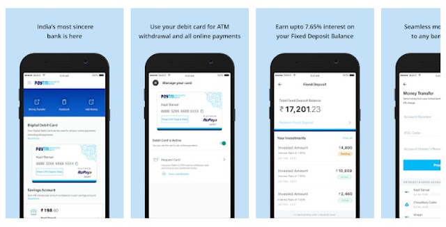 Download & Install Paytm Payments Bank Manage your Savings Accounts Mobile App