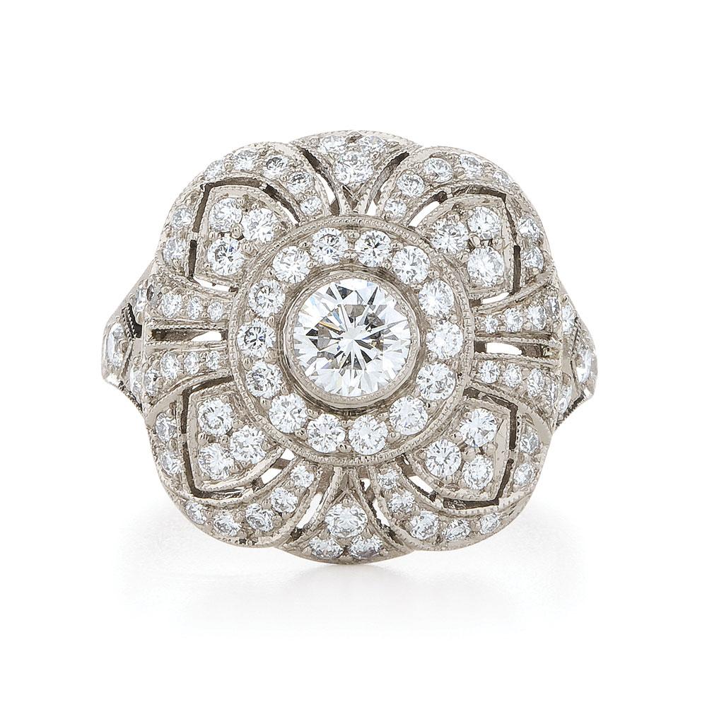 Diamond Vintage Rings 85