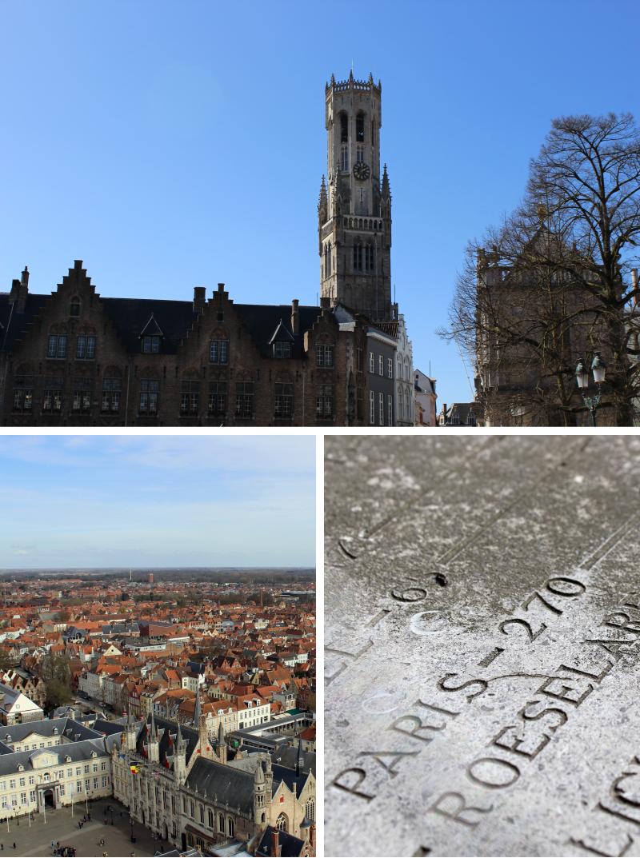 Location spotting In Bruges, Belfort Tower