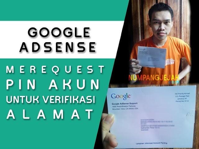cara melakukan request pin google adsense