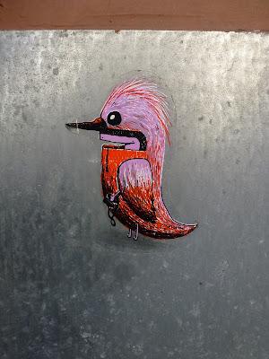bunter Vogel - Wien