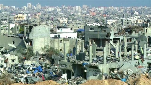 Protesta en EEUU. Crisis humanitaria en la Franja de Gaza