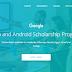 منحة Google للمبتدئين و المحترفين، في مجال الـ (Android Development - Web Development)