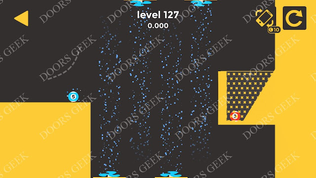 Ball & Ball Level 127 Solution, Walkthrough, Cheats for android and ios