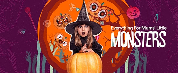 Halloween Campaign - Shop Everything You Need For This Halloween at Sprii