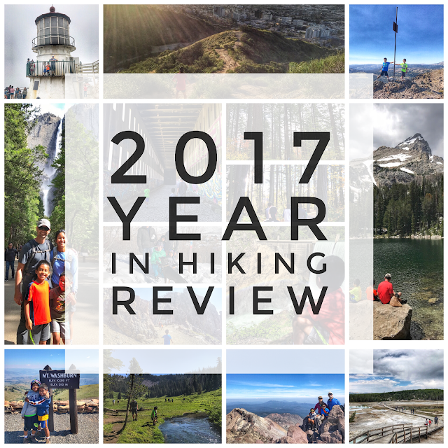 2017 Year in Hiking Review