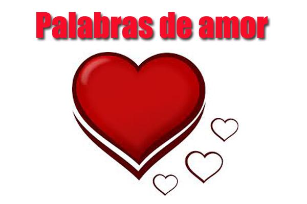 palabras de amor