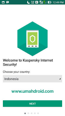 Install Kapersky Internet Security Android