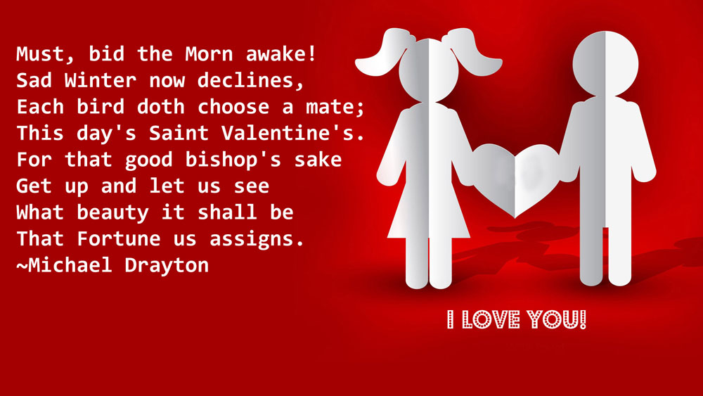 romantic valentine wishes for her