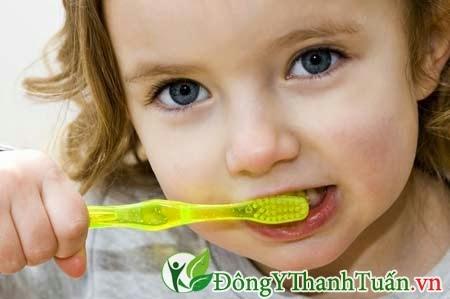 Phòng ngừa sâu răng ở trẻ em