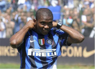 Russia's Anzhi Makhachkala Agree To Sign Eto'o From Inter 1