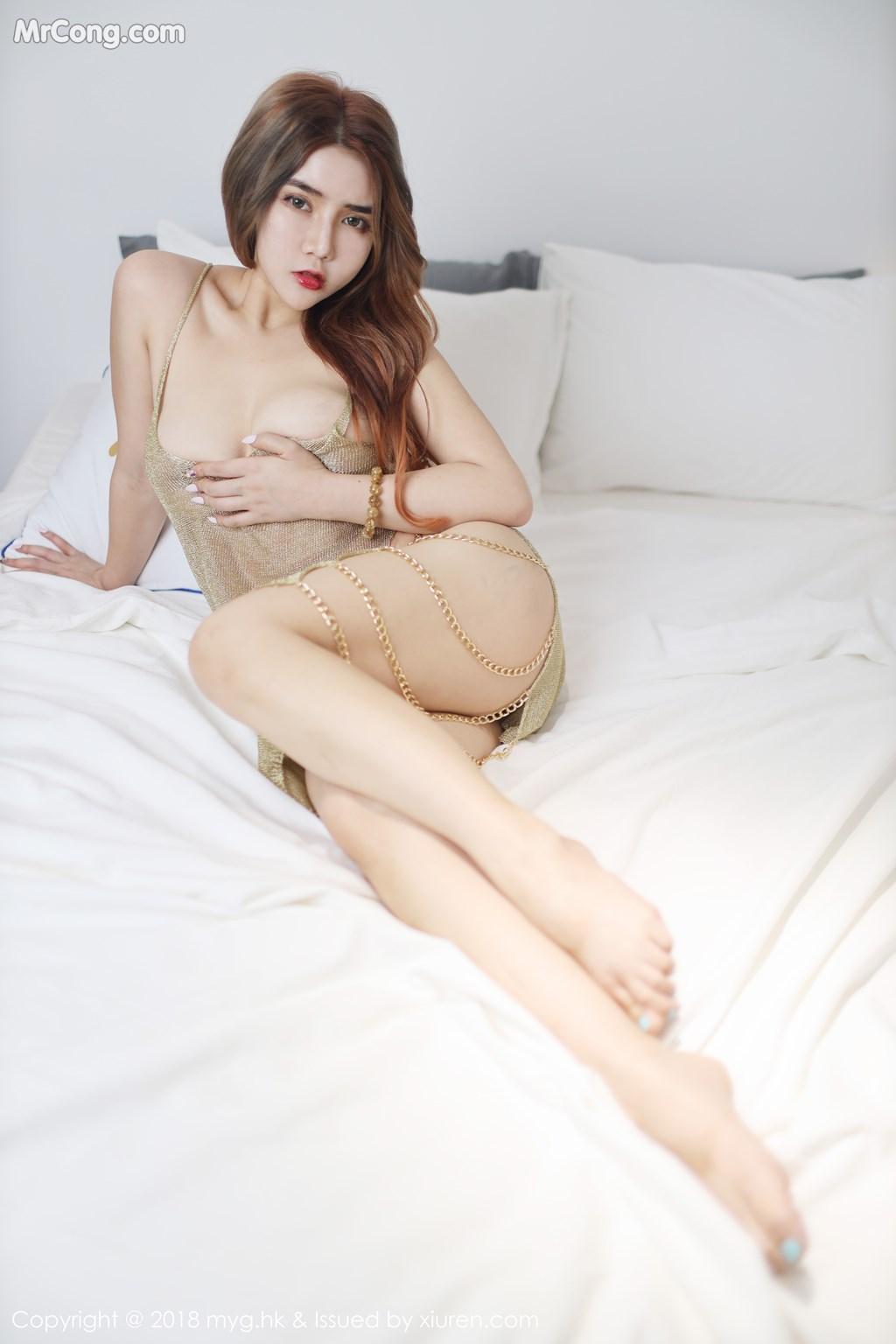 Image MyGirl-Vol.330-Wen-Xinyi-MrCong.com-005 in post MyGirl Vol.330: Người mẫu Wen Xinyi (温心怡) (41 ảnh)