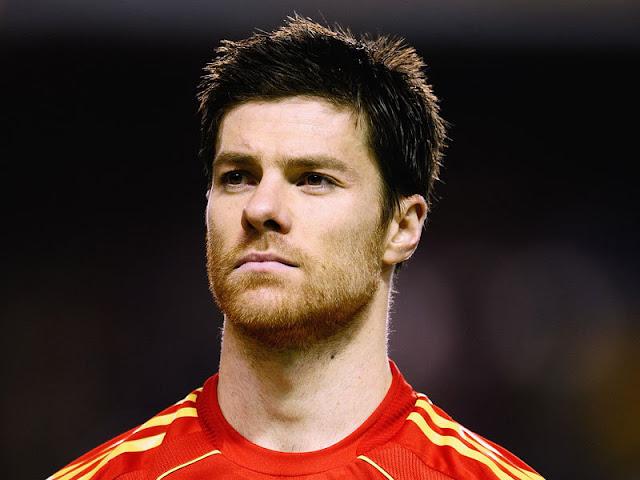 Jogador de futebol mais bonito Xabi Alonso