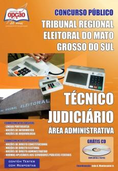 Concurso TRE-MS 2017 Técnico Judiciáro