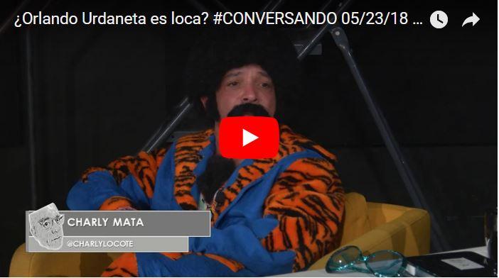 Charly Mata entrevistado por Orlando Urdaneta