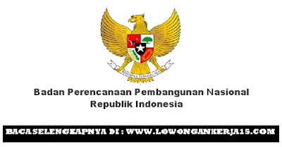 LOWONGAN KERJA BADAN PERENCANAAN PEMBANGUNAN NASIONAL REPUBLIK INDONESIA JUNI 2017