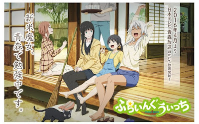 Download Anime Flying Witch Subtitle Indonesia [Batch]