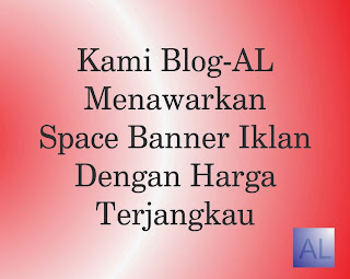Pasang Iklan di Blog-AL