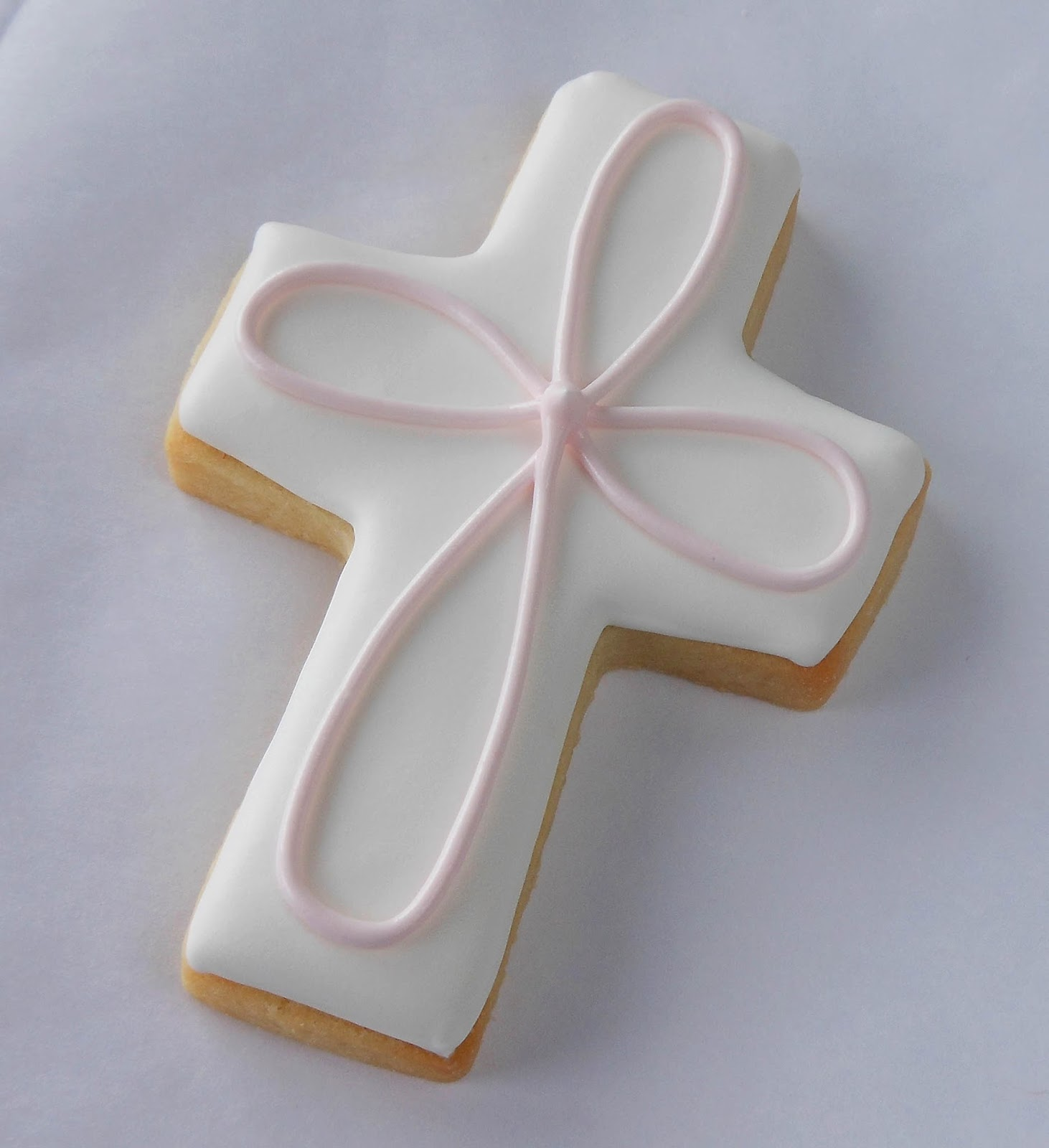 My Cookie Clinic Baptism Cross Cookies First Party