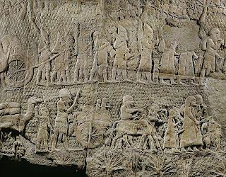 Destruction of Sennacherib Analysis