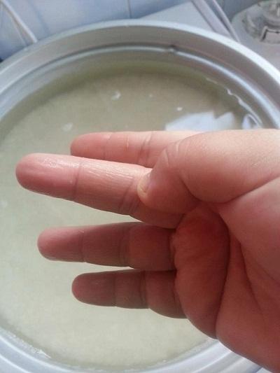 Setelah Siap Basuh Bersih Beras Teknik Mengukur Tan Air Yang Paling Mujarab Adalah Dengan Menggunakan Jari Tengah Masak Lah Berapa Banyak Pun