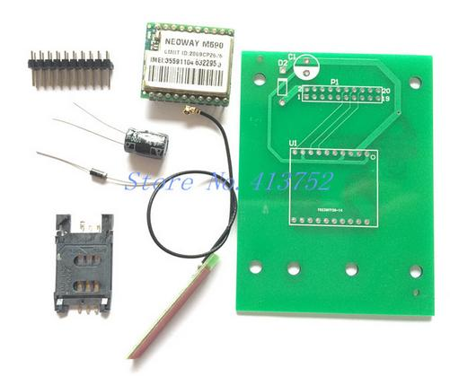 Arduino tehNiq: GPRS module with M590 for SMS projects (part 1)