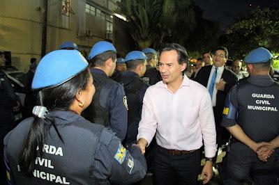 Prefeito de Campo Grande (MS) sanciona lei que cria tabela salarial da Guarda Civil Municipal