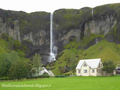La cascata di Foss