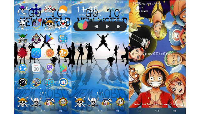 One Piece Theme For Vivo