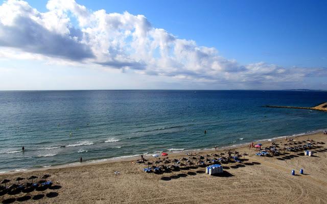 Playa de Levante en Santa Pola