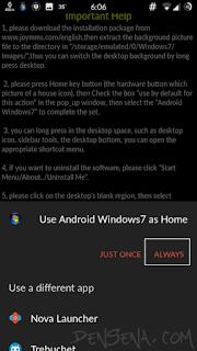 Cara Mengubah Android Menjadi Windows 10/7/vista/xp, Lengkap Link Download