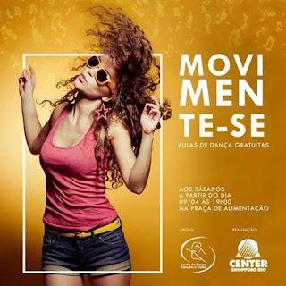 Center Shopping Rio promove aulas de dança gratuitas