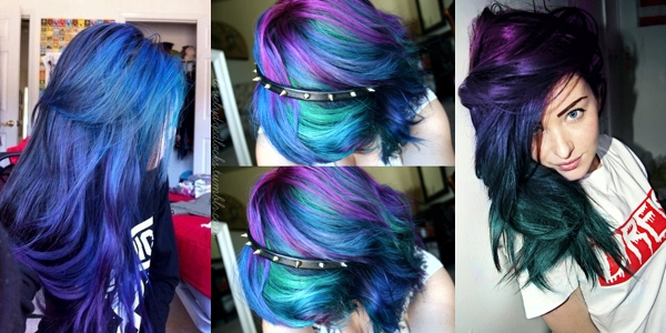Multi Hair Color Styles: A Whole Galaxy On Your Hair!