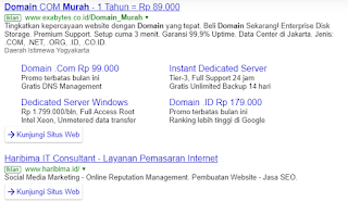 iklan custom search engine