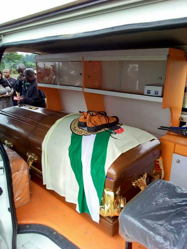 Serving Corps Member Who Drowned in Rivers State Buried By Rojon