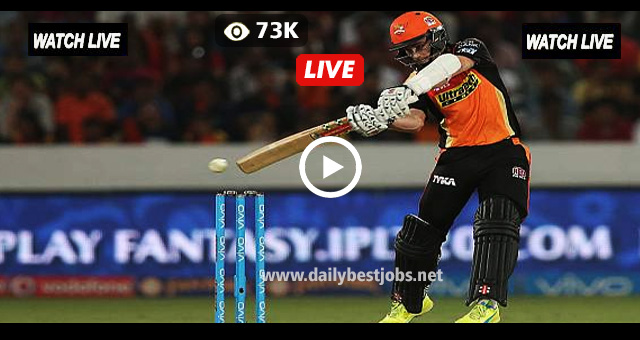 SRH vs DD Live Cricket Score Online IPL Live Streaming