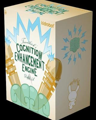 "Cognition Enhancer Dunny 8"" Vinyl Figure by Doktor A x Kidrobot"