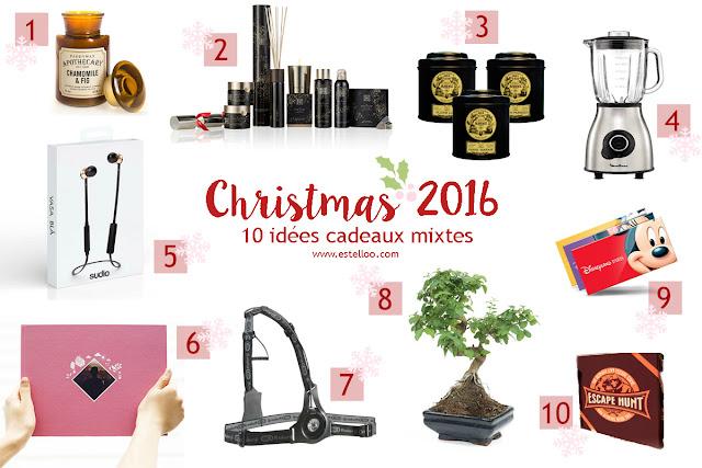 10 idées de cadeaux mixtes pour Noël !