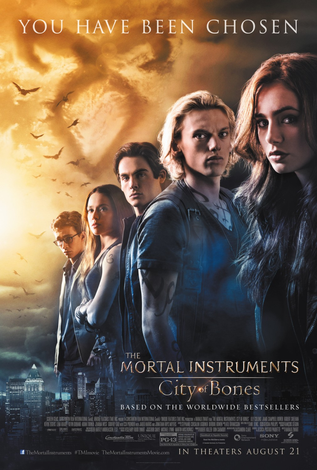 Nonton Film The Mortal Instruments: City of Bones (2013)