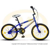 Sepeda BMX Wimcycle Batman 20 Inci Lisensi