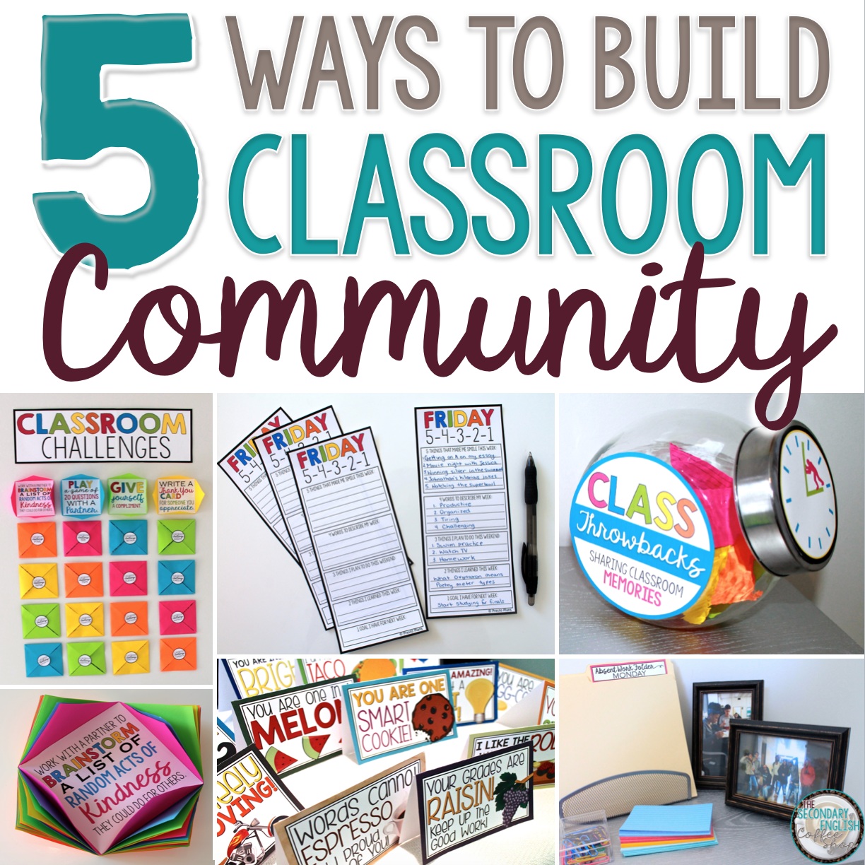 Building A Positive Classroom Community - The Secondary English ...
