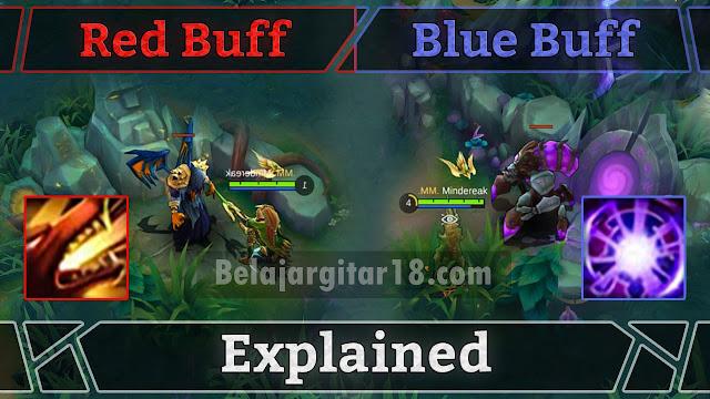 Ambil Buff Merah dan Biru